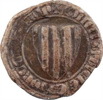 Provence (comté de), Robert d'Anjou et de Naples, bulle en plomb, s.d. (1309-1343)