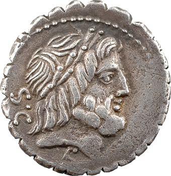 Antonia, denier serratus, Rome, 83 av. J.-C.