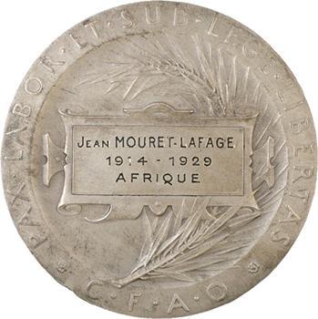 Afrique, la Compagnie Française de l'Afrique Occidentale, 1929 Paris
