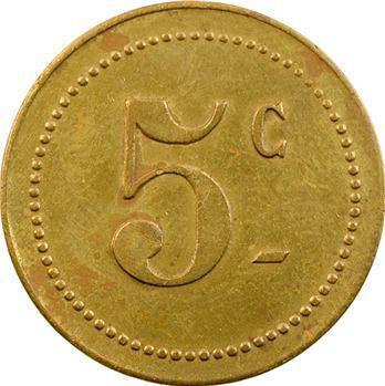 Régiments coloniaux, 5 centimes, Cercle des sous-officiers du 22e Colonial, s.d