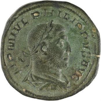 Philippe Ier l'Arabe, sesterce, Rome, 248