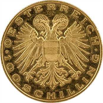 Autriche (République d'), 100 schilling MAGNA MATER, 1937 Vienne (Prooflike)