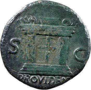Vespasien, as, Lyon, 71