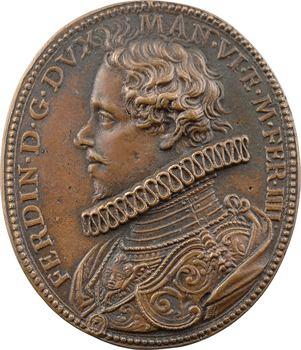 Italie, Ferdinand de Gonzague, duc de Mantoue, fonte ancienne (postérieure ?) par Gaspare Mola, s.d. (1613)