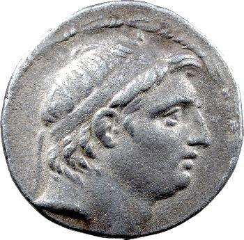 Syrie, Démétrios Ier Soter, tétradrachme, Antioche, 155-154