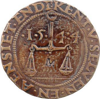 Liège, corporation des Merciers, 1544
