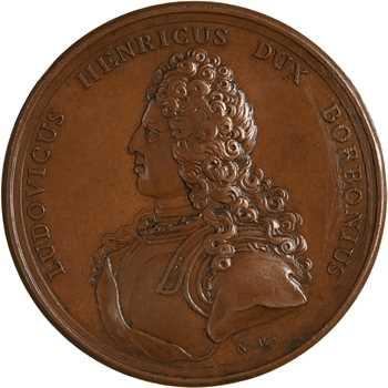 Louis XV, Louis Henri de Bourbon, prince de Condé, 1724 Paris