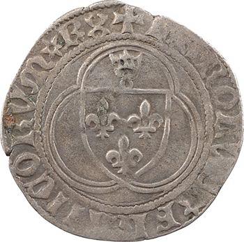 Charles VIII, petit blanc à la couronne, Châlons-en-Champagne