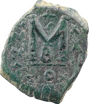 Héraclius et Héraclius Constantin, follis, Constantinople, 2e officine, An XXIII = 632-633