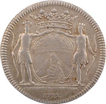 Louis XVI, Comptoirs français de l'Inde, 2e Compagnie des Indes, jeton, s.d. 1723 Rennes