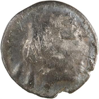 Lémovices (?), drachme au lion à l'échassier et à l'étoile, Ier s. av. J.-C