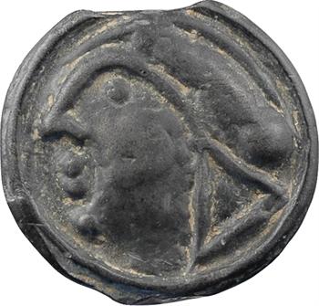 Séquanes, potin au quadrupède, c.60-50 av. J.-C