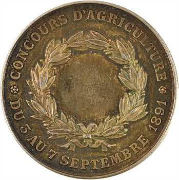 IIIe République, Concours Agricole Saint Etienne, 1891
