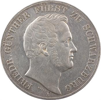 Allemagne, Schwarzbourg-Rudolstadt (principauté de), Frédéric-Günther, double thaler, 1841 Berlin