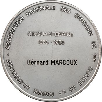 Ve République, Marine Marchande, cinquantenaire de l'Association des officiers de 1ère classe, 1936-1986