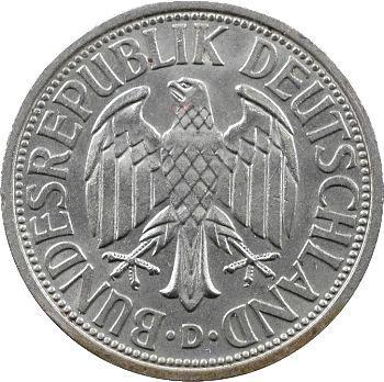 Allemagne (République fédérale), 2 mark, 1951 Münich