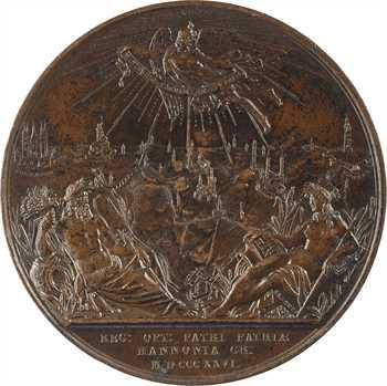 Belgique, Guillaume, restauration de la navigation fluviale en Hainaut, par Braemt, 1826