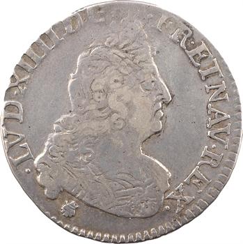 Louis XIV, demi-écu aux insignes, 1702 Troyes