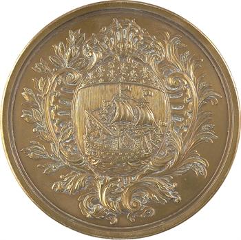 IIIe République, 60e anniversaire de la Commission Administrative des Indemnités de Paris, à Marcel Delanney, 1873-1933 Paris