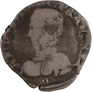 Charles IX, teston 2e type, variété aux C retournés, 156[9] Bordeaux
