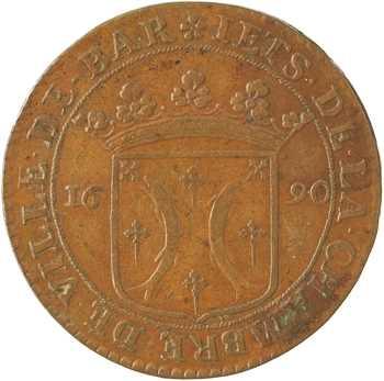Bar (duché de), Chambre de la ville, jeton, 1690