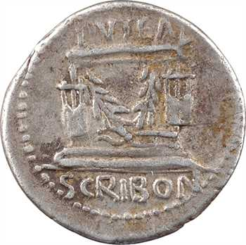 Scribonia, denier, Rome, 62 av. J.-C.
