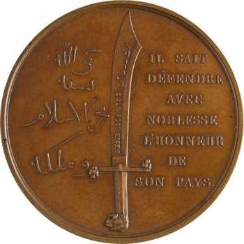 Égypte/France, Méhémet Ali défenseur de son pays (bataille de Nézib), par Rogat, 1840 Paris