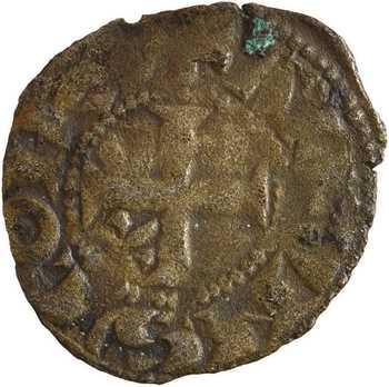 Poitou (comté de), Alphonse de France, obole, Montreuil-Bonnin ?