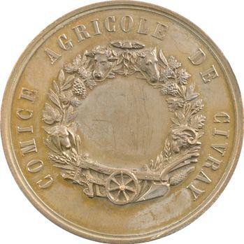 Second Empire, comice agricole de Civray, s.d.