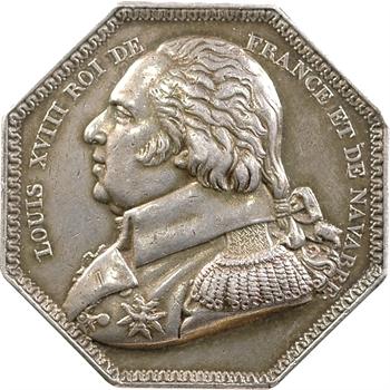 Louis XVIII, Compagie des Salines de l'Est, s.d. Paris