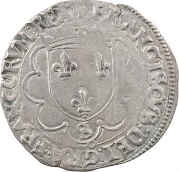 François Ier, douzain à la croisette, (1541-1542) Troyes