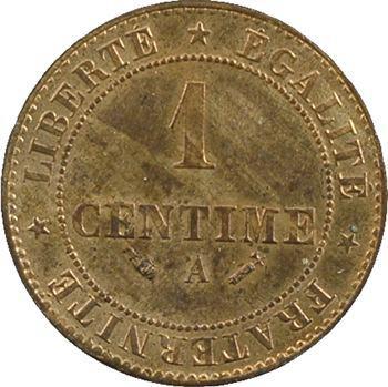 IIIe République, 1 centime Cérès, 1882 Paris