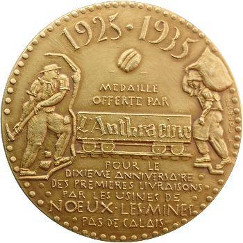 IIIe République, l'Anthracine, dixième anniversaire, 1925-1935 Paris