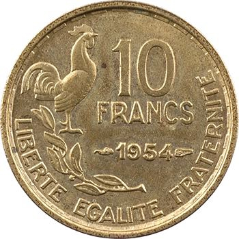 IVe République, 10 francs Guiraud, 1954 Paris