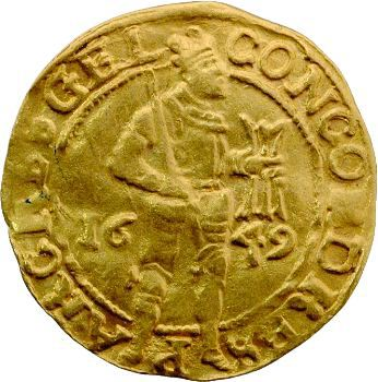 Pays-Bas, Gueldre, ducat, 1649