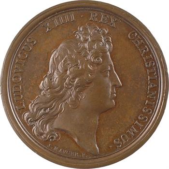Louis XIV, les magasins de guerre, par Mauger, 1672 Paris