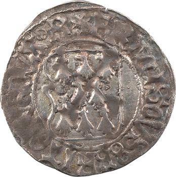 Bretagne (duché de), François II, blanc à la targe, s.d. Rennes