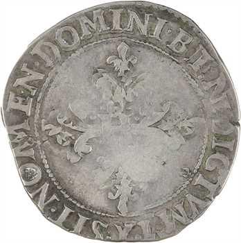 Henri III, franc au col plat, 1578 Bourges