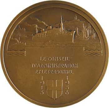 Bénard (R.) : la Société Marseillaise de Crédit à son Président Edouard de Cazalet, 1938 Paris