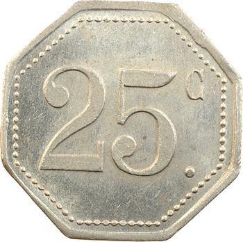 Maroc, Casablanca, 25 centimes, Hôtel Excelsior, s.d