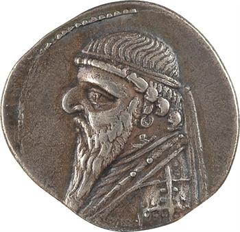 Royaume Parthe, Mithridate II, drachme, 123-88 av. J.-C.