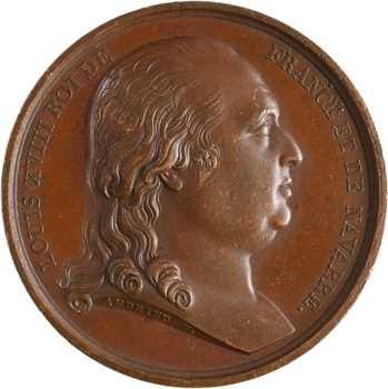 Louis XVIII, le retour du Roi, 1814 Paris