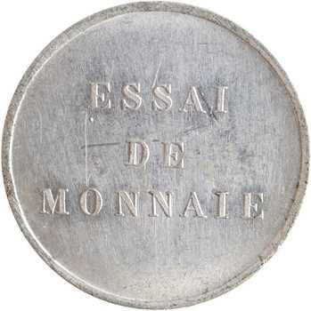 Honduras, essai de 1/4 real, 1872 Paris