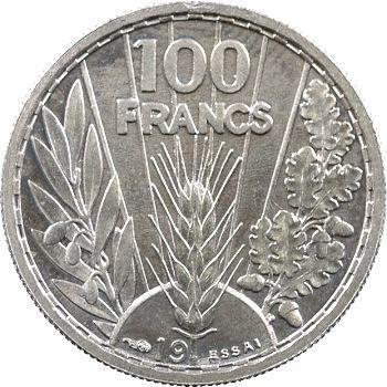 État français, essai de 5 francs Pétain par Bazor, cupro-nickel, 19– Paris