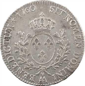 Louis XV, écu au bandeau, 1760 Metz