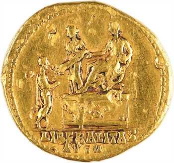 Antonin le Pieux, aureus, Rome, 140