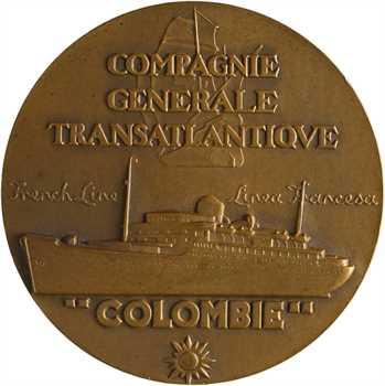 Renard (M.) : Cie Gale Transatlantique, le paquebot Flandre, s.d. Paris