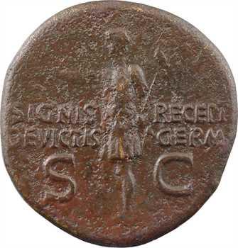 Caligula, dupondius au nom de Germanicus, Rome, 37-41