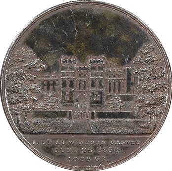 Royaume-Uni, la mort de Georges IV, 1830