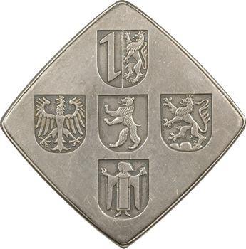 Allemagne, 75e anniversaire de la compagnie d'assurances Frankona, 1961